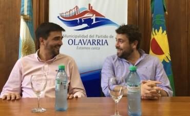 Recorrida y obras para Olavarría tras la visita del Sub Secretario de Asuntos Municipales