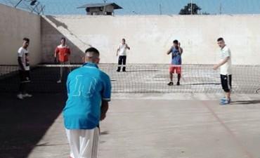 Integración a través del deporte en la Unidad Nº 38
