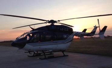 La provincia pone 6 aeronaves a disposición de los bonaerenses