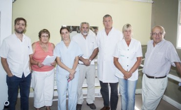 Azul: aportes para el Hospital Municipal