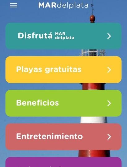 La Provincia lanzó una App con toda la información turística de Mar del Plata