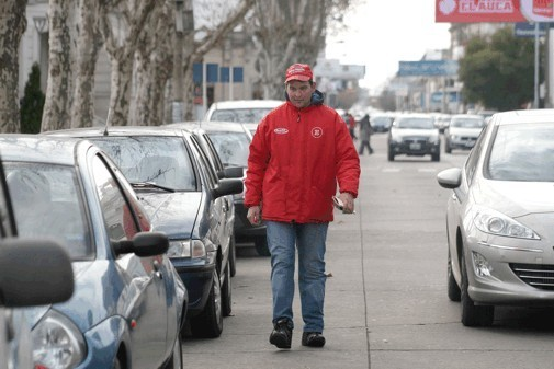 Aumentó el 130 % el estacionamiento medido