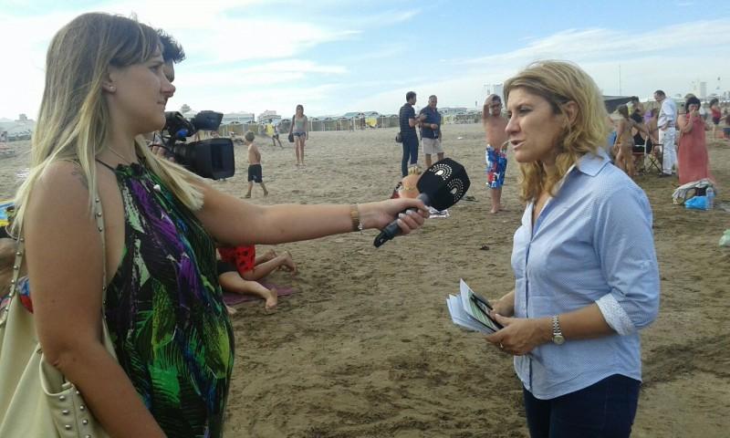 La diputada Alejandra Lordén recorrió Mar del Plata