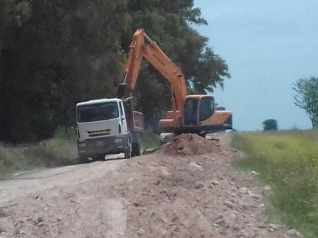 Informe actualizado del avance de las obras en los caminos rurales de Olavarría.