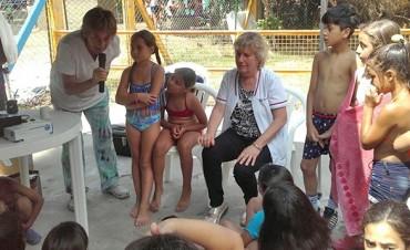 Promoción de la salud para niños que integran los programas municipales de verano
