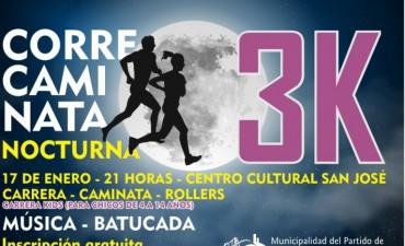 Edición 2018 de las correcaminatas nocturnas