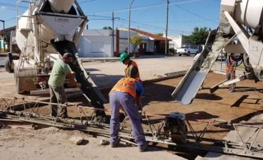 Repavimentación en Moreno y Rendón