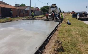 En Sierra Chica avanzan las obras