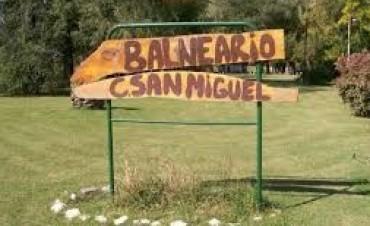 Balneario de Colonia San Miguel: faltan algunas obras para ser habilitado como camping