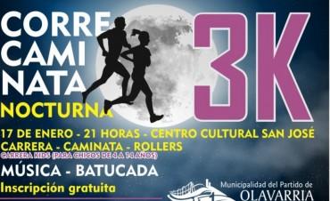 Correcaminata nocturna desde el Centro Cultural