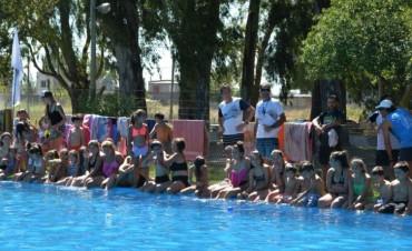 Primer encuentro de natación del año
