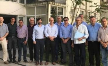 Intendentes peronistas se reunieron en La Plata