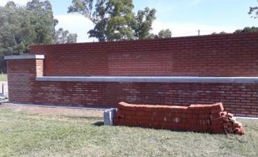 Comenzó la construcción de un monolito para Blanca Grande