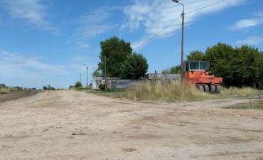 En Cuarteles y Matadero avanza el mantenimiento de calles