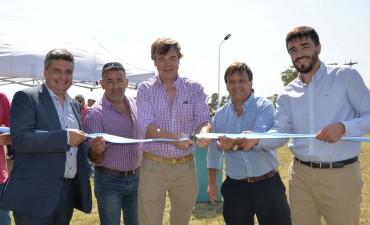 Quedaron inaugurados los Parques Solares en Espigas y Recalde