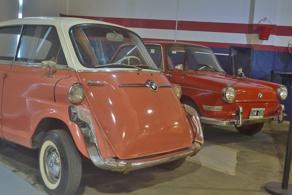 En el Museo Emiliozzi se exhiben los clásicos micro coupés