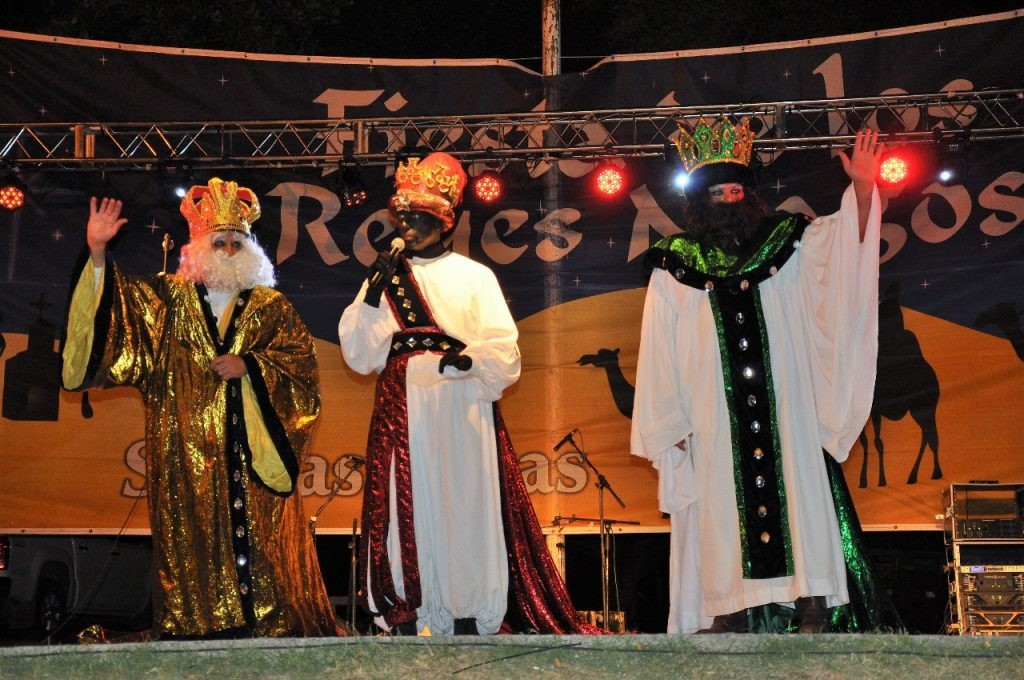 Llegan los Reyes Magos a Sierras Bayas