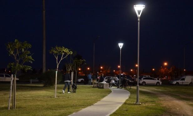 'Gimnasia en los Parques' de la Dirección de Deportes