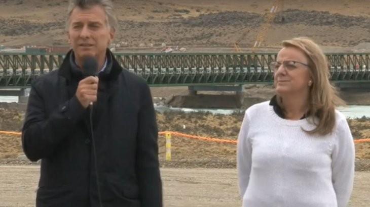 Macri, por primera vez cara a cara con Alicia Kirchner en Santa Cruz