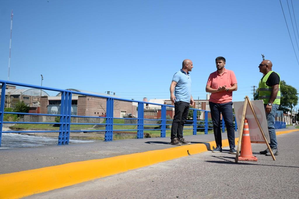 Se inició el plan de puesta en valor de puentes en la ciudad