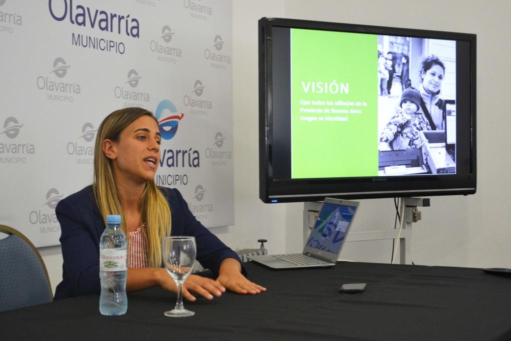 En Olavarría se presentó el Plan Garantizar tu Identidad
