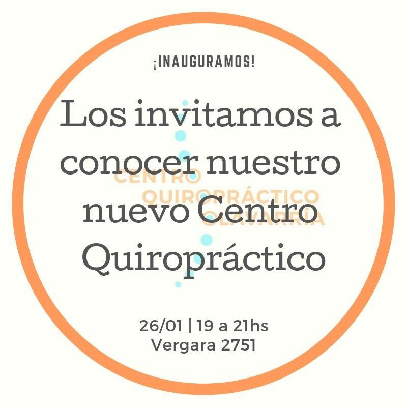 Nuevo Centro Quiropráctico en Olavarría