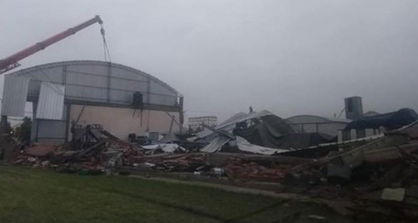 Fuerte temporal afectó la zona de Tres Arroyos