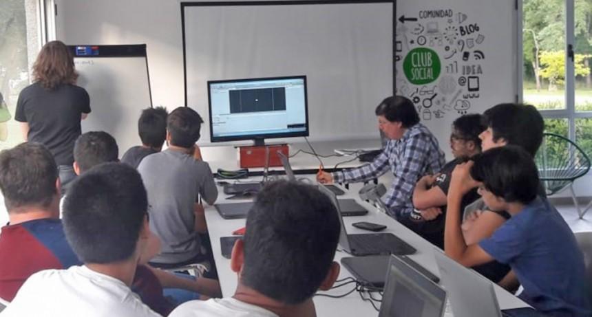 Se desarrolló el taller de videojuego en el Club Social de Innovación