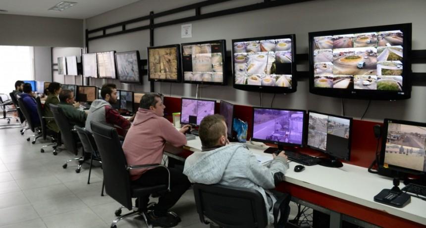 Nuevas cámaras de seguridad se suman al Centro de Monitoreo