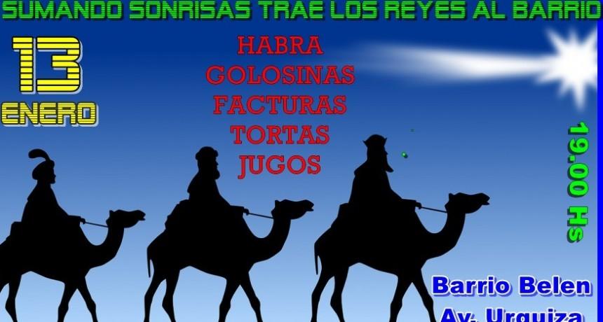Los Reyes Magos estarán en el barrio Belén
