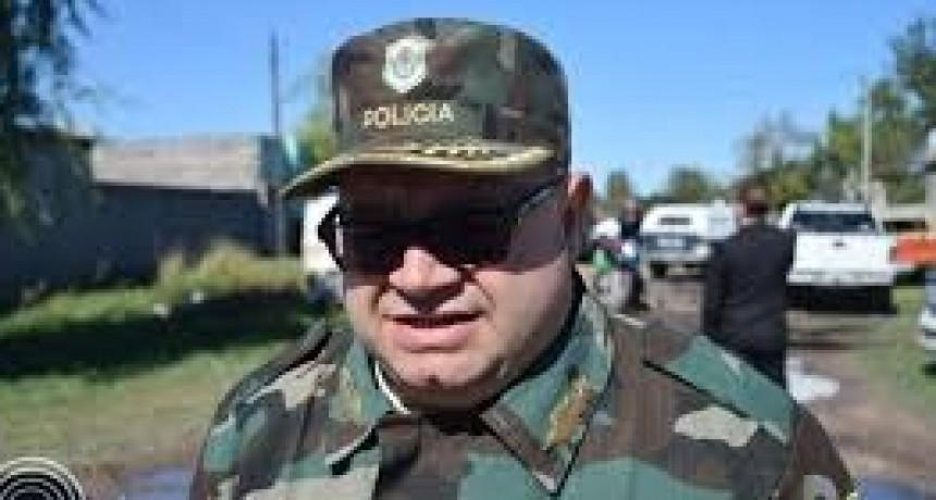 Seguridad Rural: positiva evaluación del recientemente ascendido Comisario Mayor Ferrari