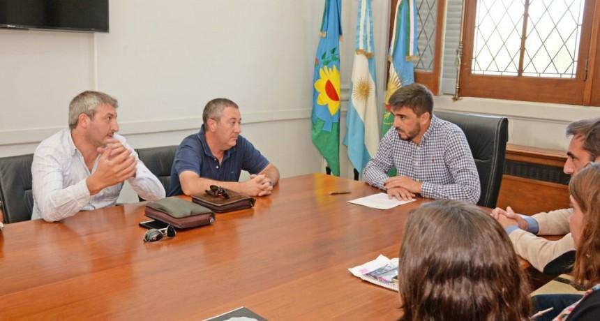 Municipio e Ingenieros agrónomos a la vanguardia del trabajo conjunto
