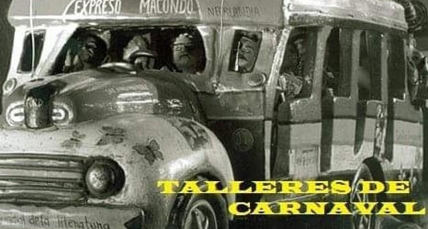 La Mutual Macondo inicia los talleres de carnaval