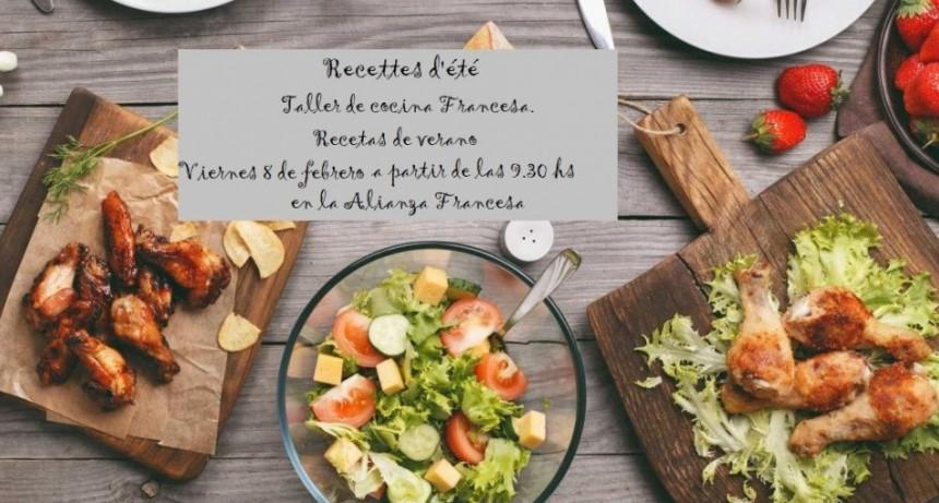 Taller de Cocina Francesa. Recetas de verano