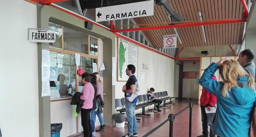 Farmacia del Hospital Municipal: cerrada por inventario
