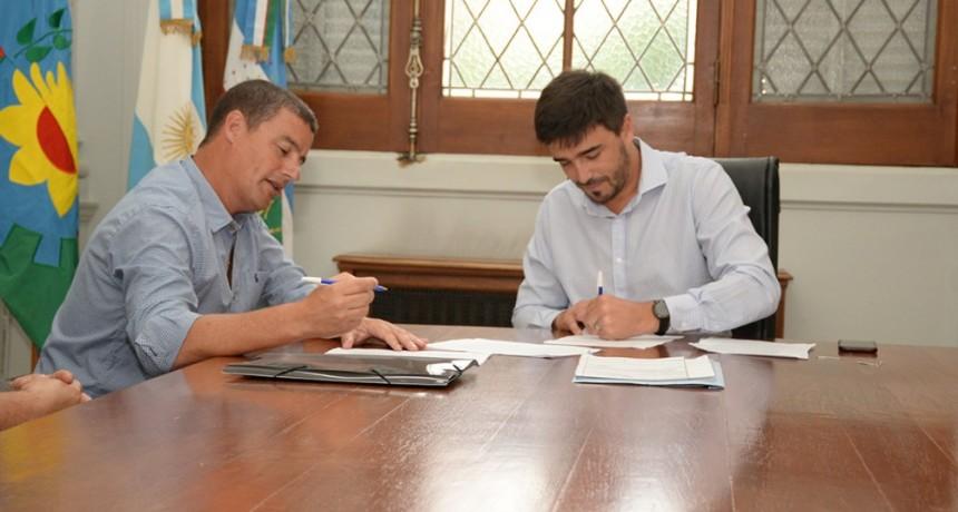 Municipio y Nuestro Hogar firmaron un convenio urbanístico