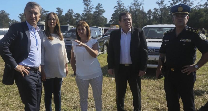 Mauricio Macri y María Eugenia Vidal recorrieron el Hospital Houssay