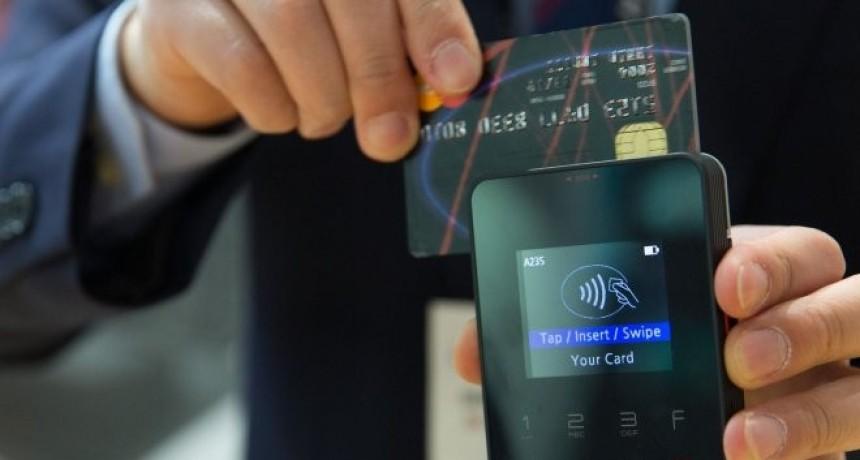 Se podrá usar tarjeta de crédito y débito para pagar propinas