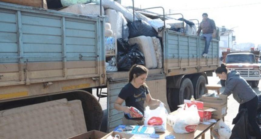 Buena respuesta de Olavarría para los inundados del norte argentino