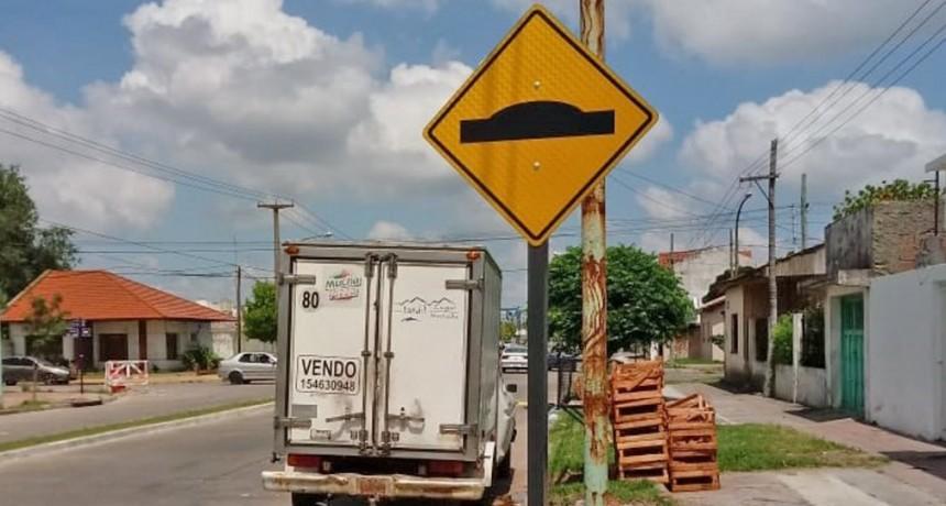 Nuevos reductores de velocidad en dos avenidas de la ciudad