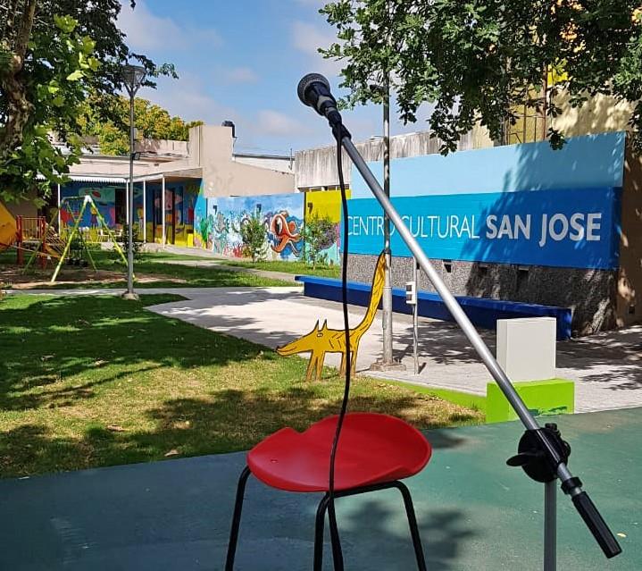 Micrófono abierto en el Centro Cultural