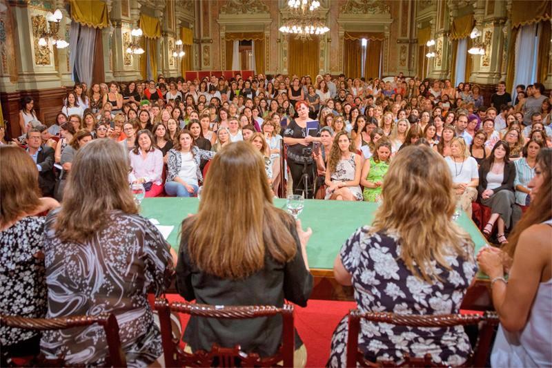 Olavarría participó del primer encuentro del Consejo de Articulación de Políticas de Género