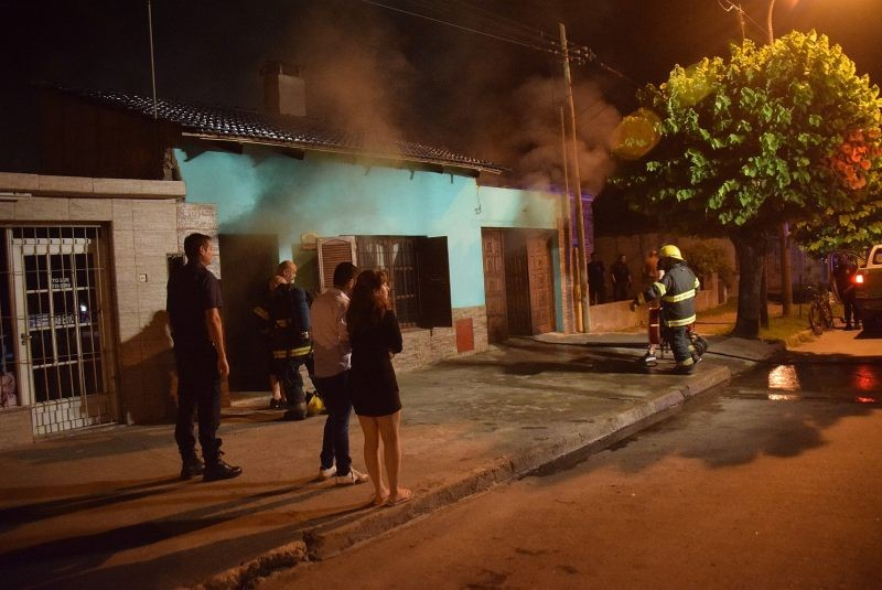 Incendios en la madrugada del Domingo