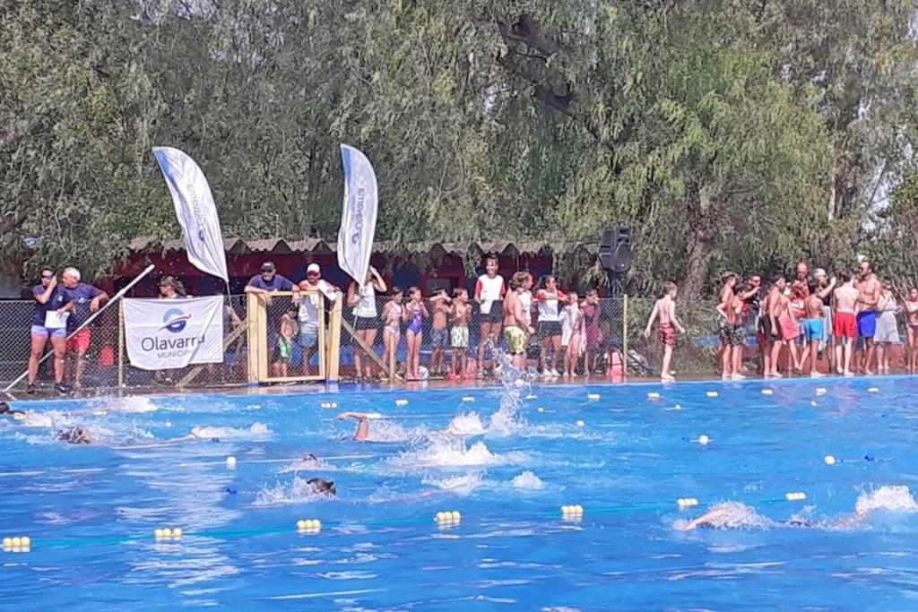 Encuentro de Natación: otro centenar de nadadores participó de la segunda propuesta