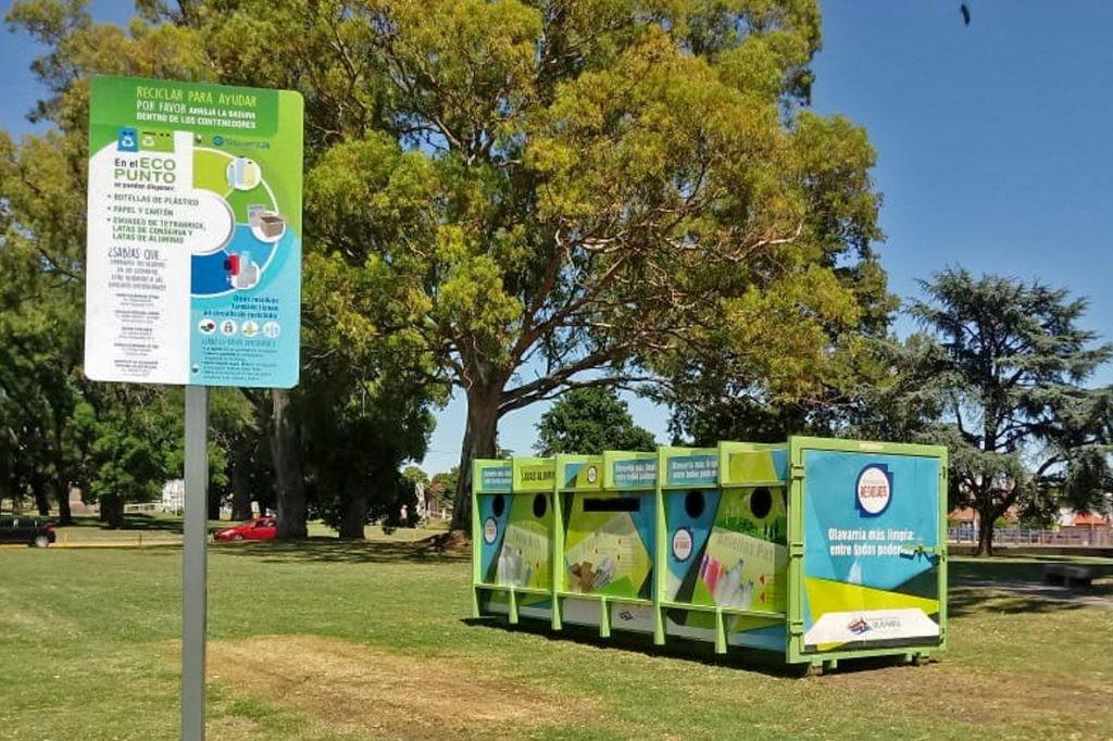 Por el cierre de las Escuelas de Verano, instalan el EcoPunto en La Máxima