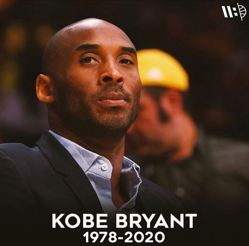 Murió Kobe Bryant