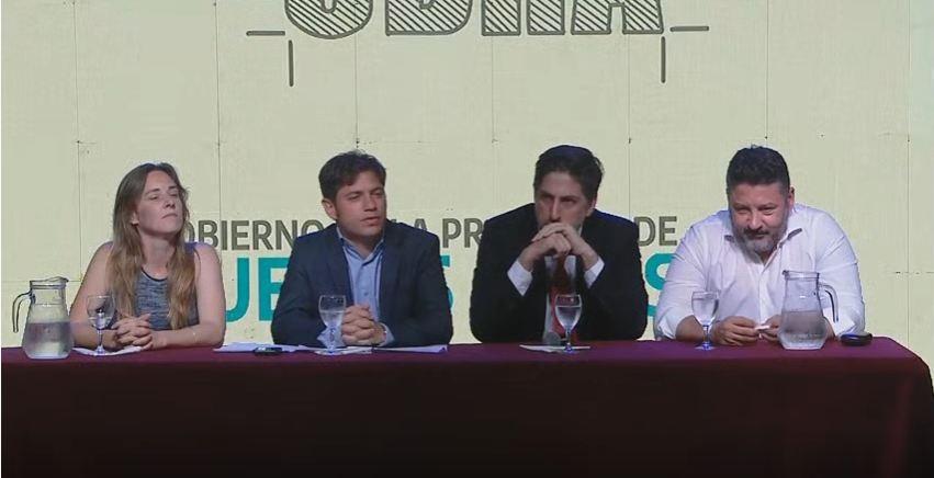 """Olavarría participó del lanzamiento del programa """"Escuelas a la obra"""""""