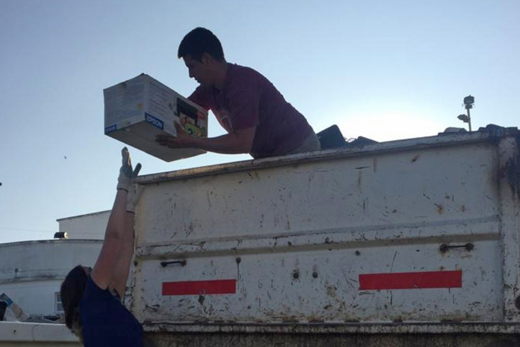 Campaña de basura electrónica: más de 5000 kilos recolectados