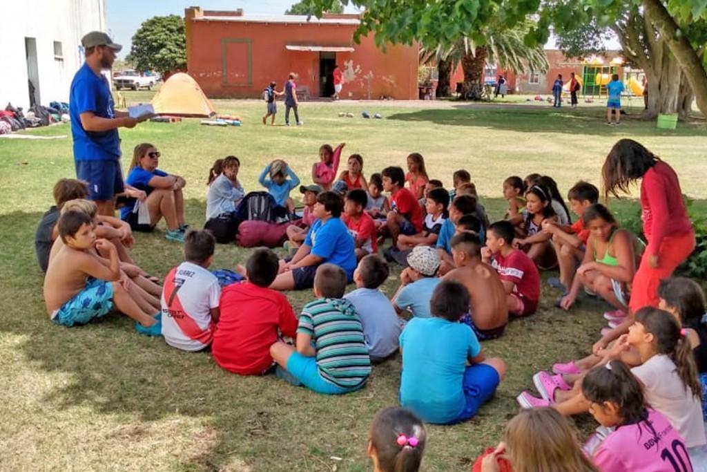 Centros de Día municipales de campamento