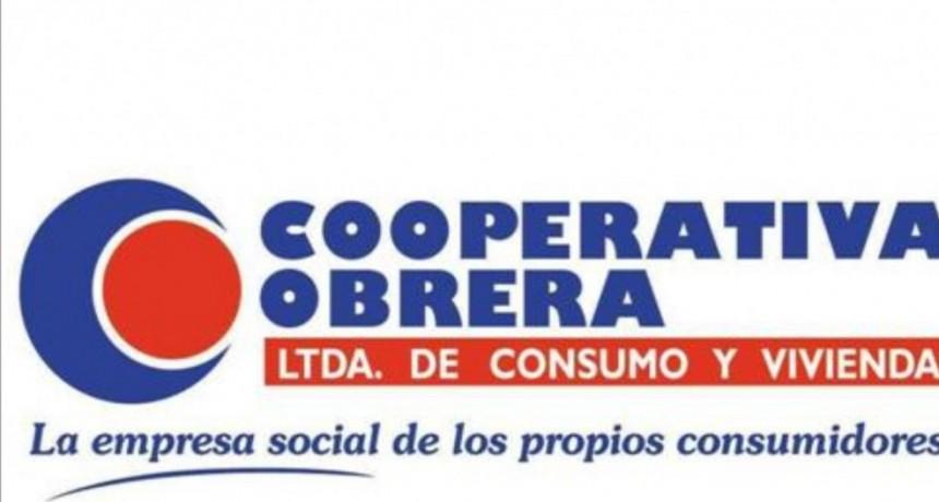 La Cooperativa Obrera sin modificaciones en los precios
